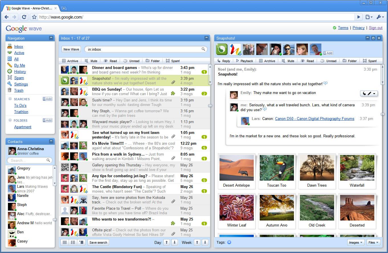 google-wave-snapshots-inbox