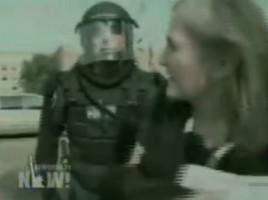 Amy Goodman Arrest
