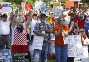 Obama Health Care Protest