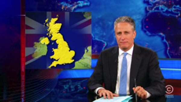 Daily Show Clip Banned In Uk Uk Anti Satire Law Daily Show Satire