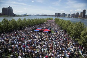 hillary clinton h stage roosevelt island