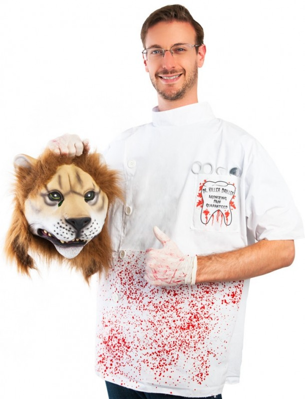 cecil the lion killer halloween costume full