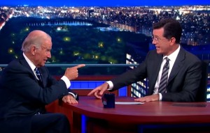 stephen colbert joe biden interview