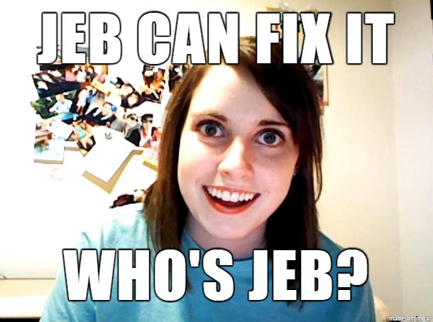 jeb can fix it meme