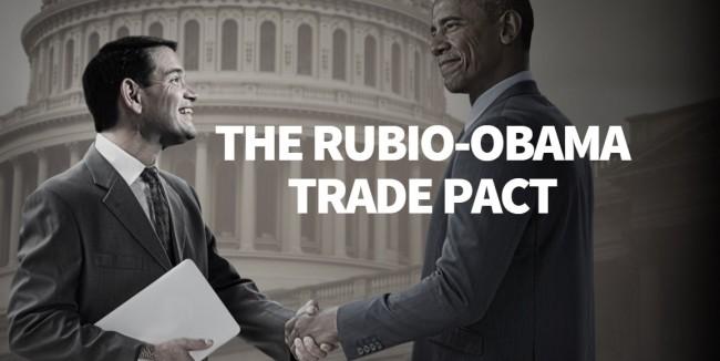 Rubio Obama
