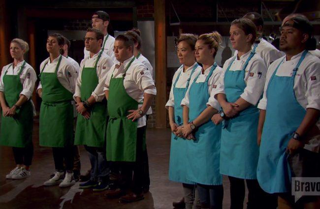 top-chef-green-blue-teams