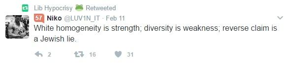 white homogeneity