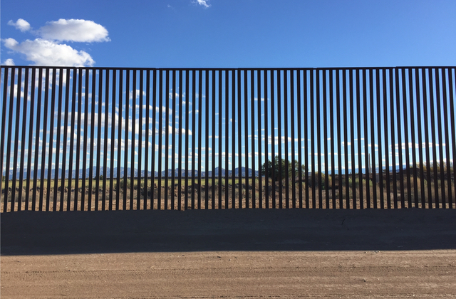 U.S. Border fence (Shutterstock)