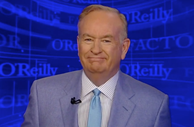 Bill O'Reilly (Fox News screen grab)