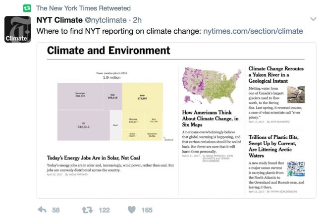 nyt climate