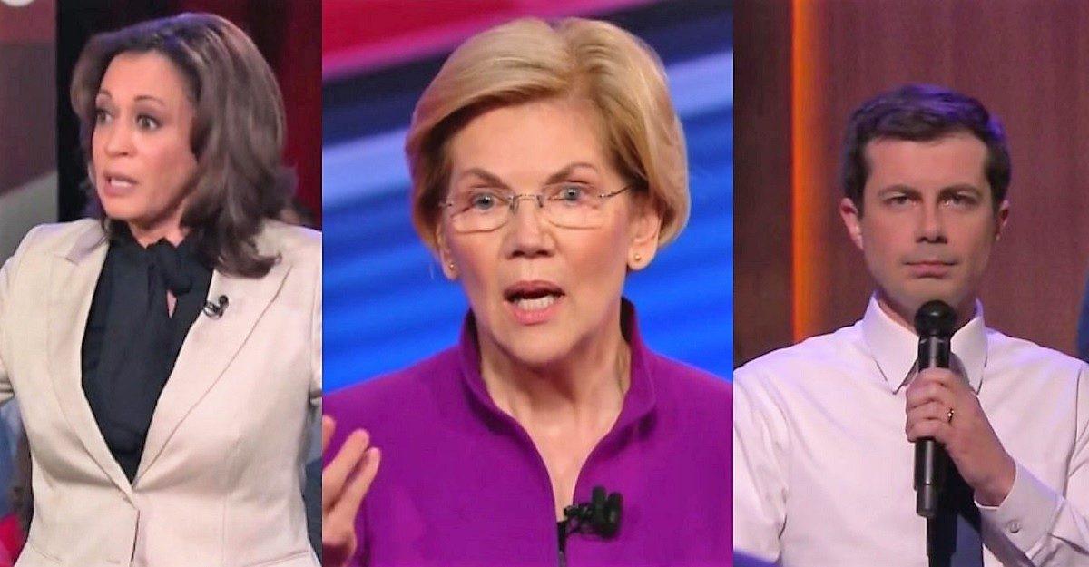 Poll Town Halls Helped Elizabeth Warren, Kamala Harris, Mayor Pete Most