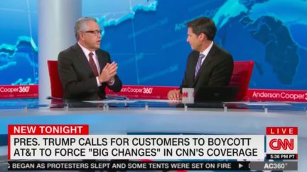 Jeffrey Toobin Blasts Donald Trump's Attack on AT&T and CNN
