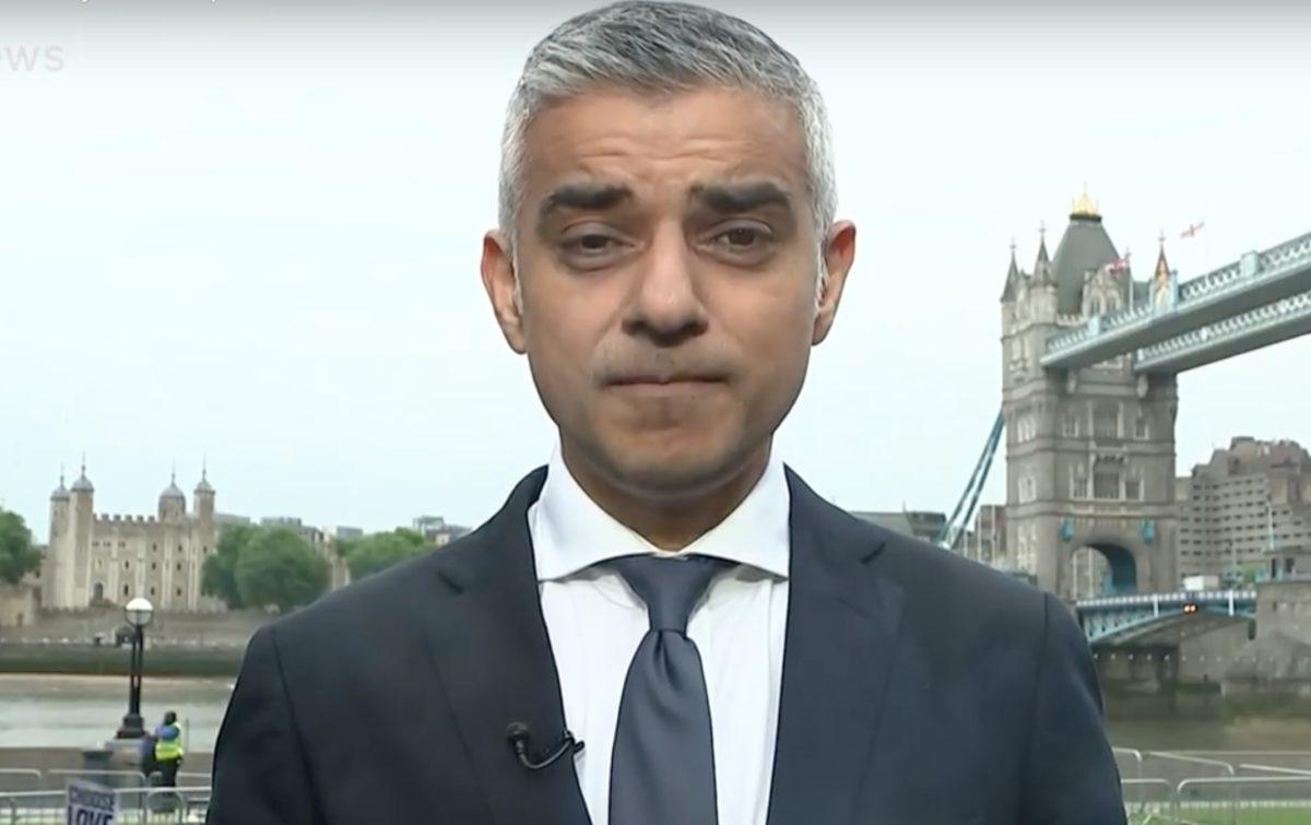 Trump Bashes 'Stone Cold Loser' London Mayor Sadiq Khan at Start of UK State Visit