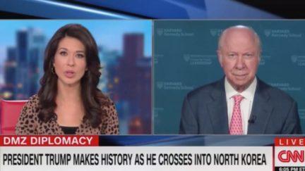 David Gergen Says Trump Visit to North Korea Scored Points