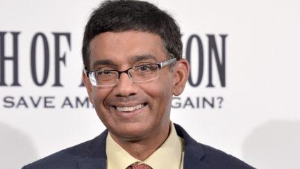 WASHINGTON, DC - AUGUST 01: Dinesh D'Souza attends the DC premiere of his film,