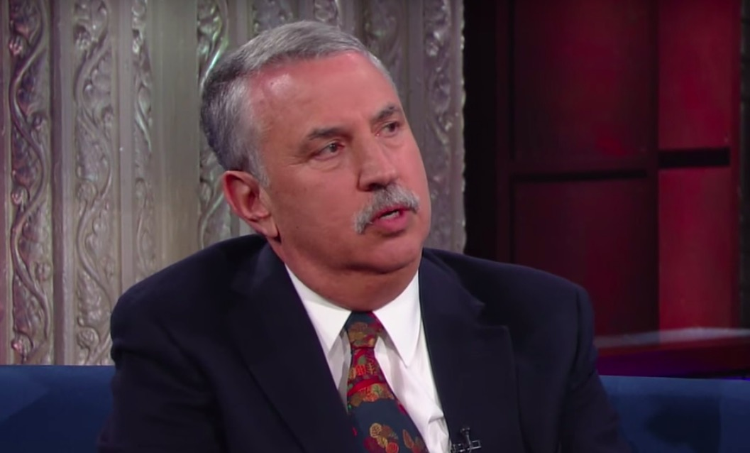 Trump Attacks New York Times Columnist Thomas Friedman