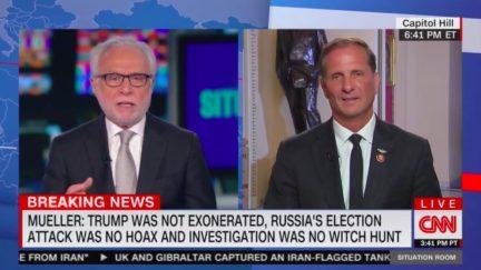 Wolf Blitzer confronts Rep. Chris Stewart on Mueller hearing