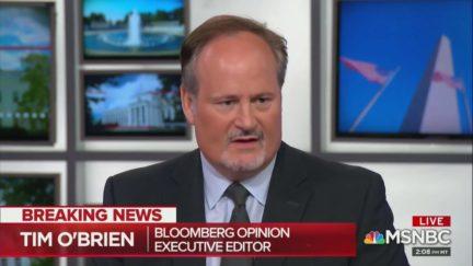 Tim O'Brien Says Trump Knew Jeffrey Epstein Well