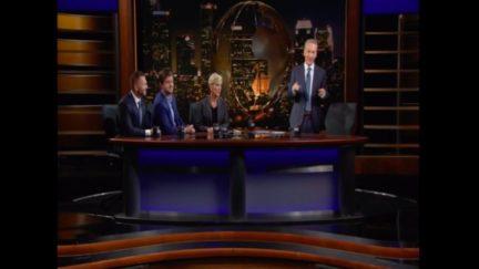 Pro-Trump Heckler Interrupts Bill Maher