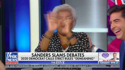 Donna Brazile makes things awkward on The Five with CNN debate reference