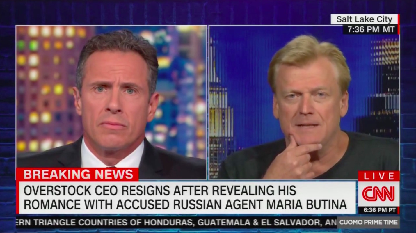 Patrick Byrne on CNN