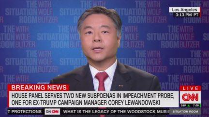 Ted Lieu Dismisses Trump WH Attempt to Block Lewandowski Testimony