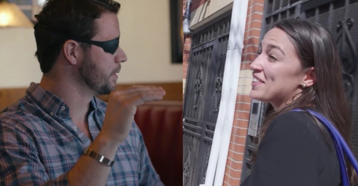 AOC Mocks Dan Crenshaw For Wanting To Lend Guns To His 'Likely' Violent Criminal Friends