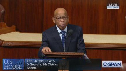 WATCH: John Lewis Calls for Trump Impeachment in Fiery Floor Speech