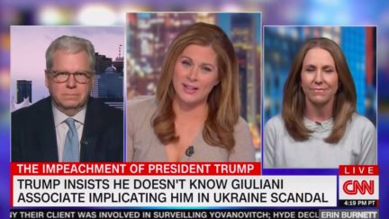CNN's Erin Burnett Plays Supercut of Trump Denying Relationship With People He's Praised