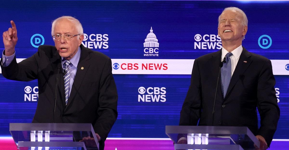 Bernie-Sanders-Joe-Biden-laughing-debate