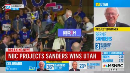 Jill Biden, Symone Sanders Take Out Dairy Protestor Rushing the Stage