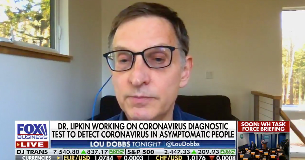 'Contagion' Medical Consultant And World Class Virologist Catches Coronavirus