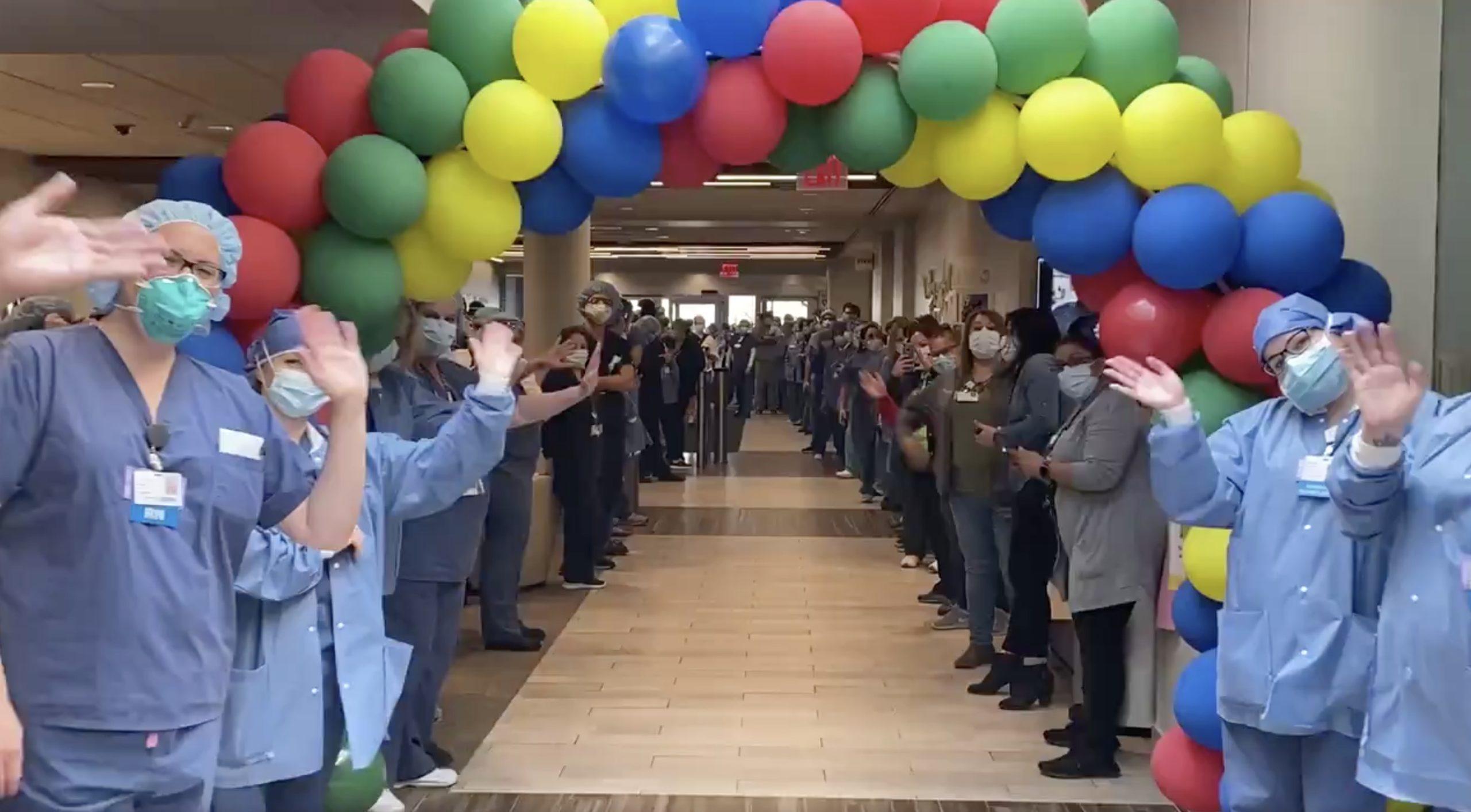 coronavirus patient released from hospital