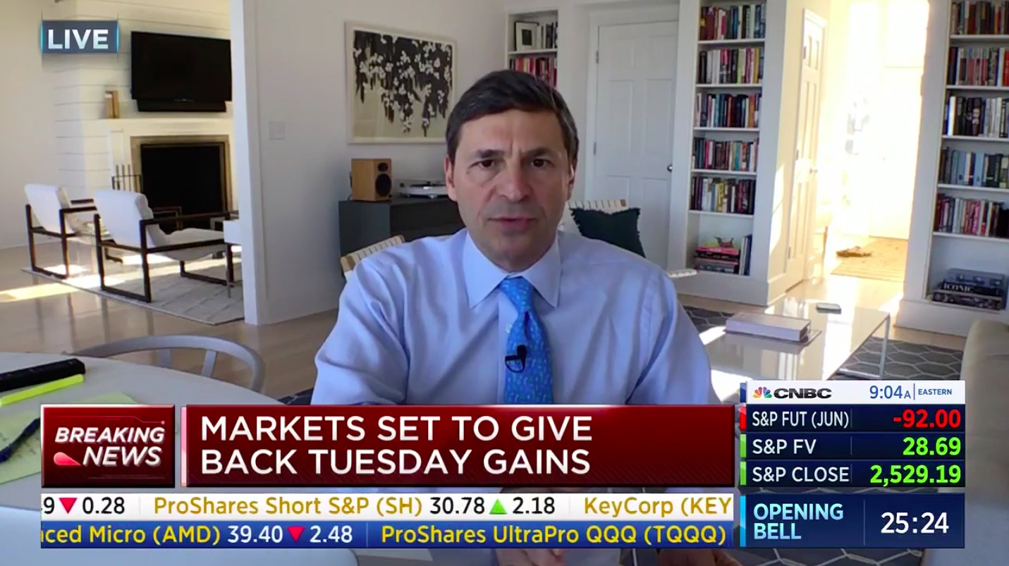 David Faber Works From Home