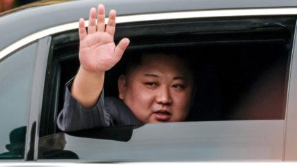 Kim Jong-Un on February 26, 2019