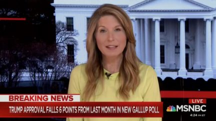 Nicole Wallace Mocks Trump's Covid-19 Briefings, Says His 'Blabbing for Hours' as Reason for Big Gallup Poll Drop