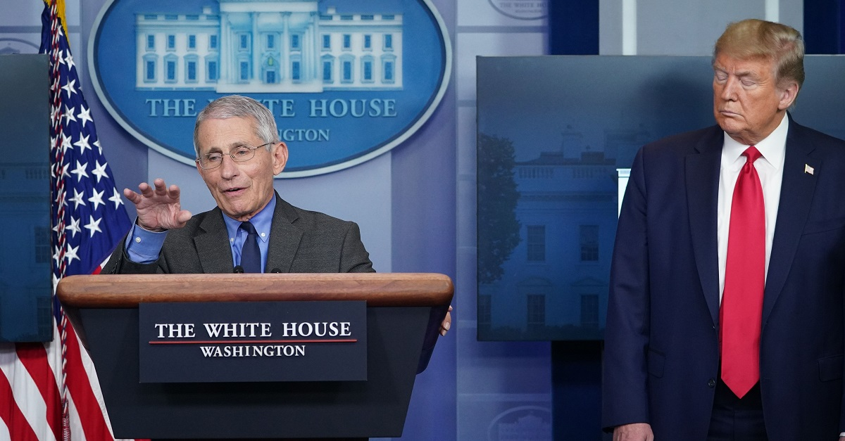 Trump says Fauci 'made a lot of mistakes'