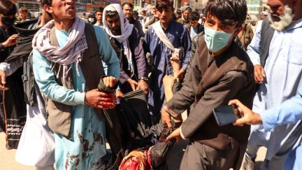Clash over food in Afghanistan