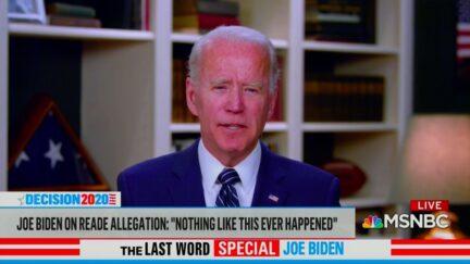 Joe Biden Addresses Voters Who Doubt his Denials of Sexual Assault
