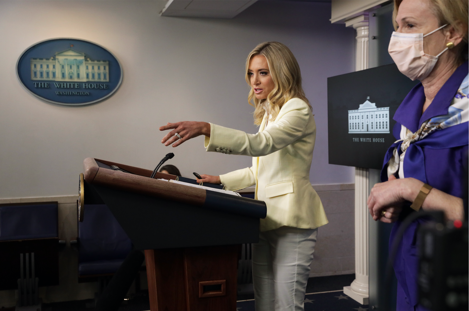 Kayleigh McEnany Photo by Alex Wong/Getty Images