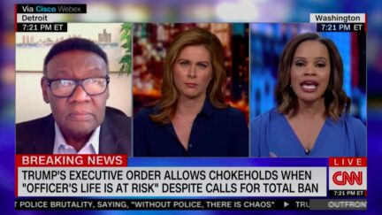 CNN Legal Analyst Laura Coates Calls Out 'Really Big Caveat' in Trump's Proposed Chokehold Ban