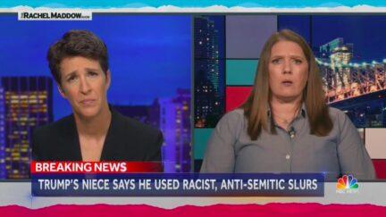 Mary Trump Claims Donald Trump Used N-Word, Anti-Semitic Slurs