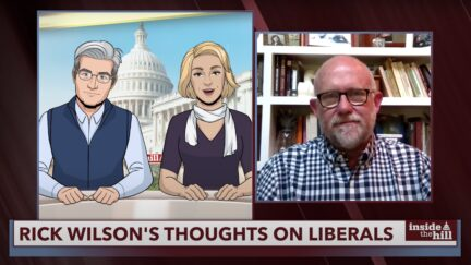rick wilson on tooning out the news