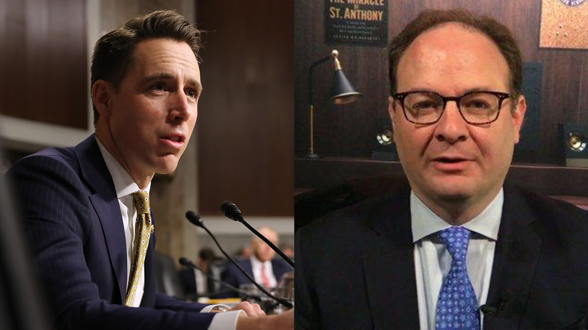Sen. Hawley Asks NBA to Add Pro-Police, Pro-Military Messaging