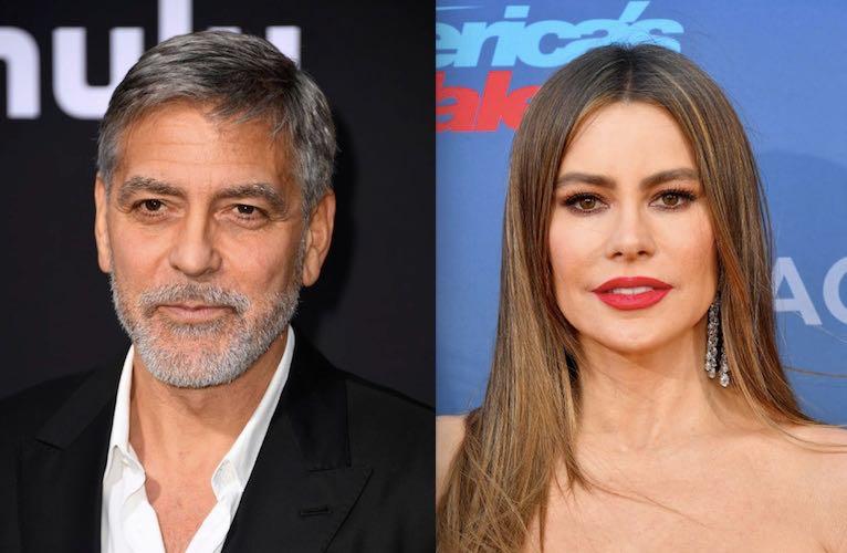 George Clooney Sofia Vergara