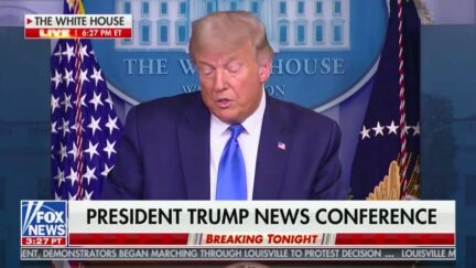 'It Will All Work Out' Trump Comments on Lack of Charges for Breonna Taylor's Killing