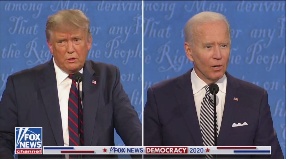 Trump-Biden debate