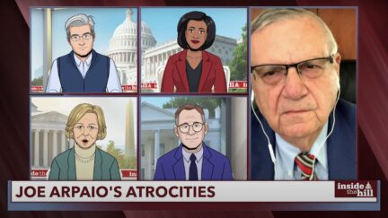 joe arpaio on tooning out the news
