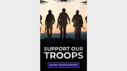 Trump 'Support the Troops' Ad Uses Stock Image of Russian MiG Fighters