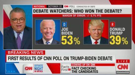 Biden Wins Debate in CNN Instant Poll